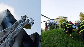 Kritizovala hasiče v Bohumíně, teď se kaje: Hasiči dělali, co mohli, omlouvám se!