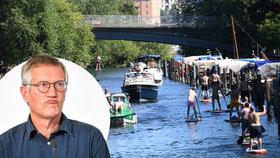 Troufalý plán uspěl? Švédové jsou prý blízko kolektivní imunitě, i za cenu úmrtí seniorů