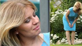 Prezidentka Čaputová se pochlubila přírůstkem v rodině: Radost nám dělá už několik týdnů