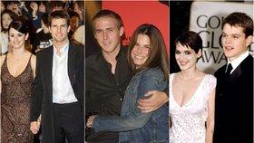 Slavné dvojice, na které se zapomnělo: Vzpomínáte si, že tvořily pár?