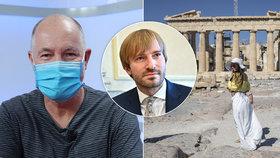 Řecko zavedlo pro Čechy testy. Cestovky viní Vojtěcha, ten chce ještě zkusit zvrat