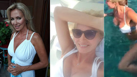Kateřina Brožová (52) si užívá na jachtě! Kdo jí dělá společnost při skotačení v moři?