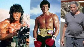 Co ten pupek, Rambo? Sylvester Stallone (74) přibral a je k nepoznání!