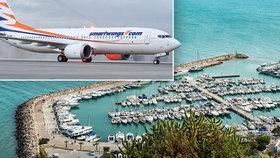 Českým dovolenkářům otevírá další ráj. Do Tuniska se bude létat třináctkrát týdně