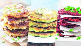 Rychlá a levná letní večeře? Zeleninové placičky na 4 různé způsoby!