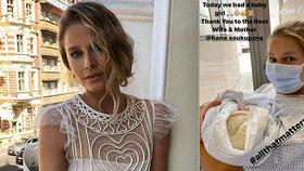 Nahá kráska z reklamy se stala potřetí mámou! Hana Soukupová se raduje z holčičky