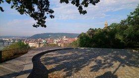 Praha jako na dlani: Na Letné vznikla fungl nová vyhlídka