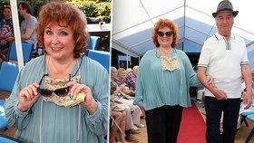 Naďa Konvalinková (69) jako hvězda módní přehlídky! Kývla i na roli v muzikálu