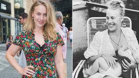Odvážná Aneta Krejčíková se vyfotila při kojení: Připojila i velkou obhajobu!