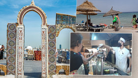 """Češi v Tunisku: Vedro i nápor místních. """"Lidé málo poznávají,"""" říká velvyslanec a radí Saharu"""