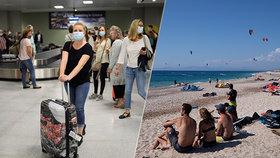 Obavy z dovolené v Řecku: Brity čeká karanténa. Sledují i Česko