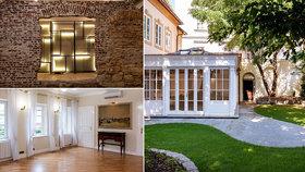 Skvostnou barokní vilu v Praze prodávají za čtvrt miliardy! Bydlel v ní i známý stavitel Kryštof Dientzenhofer