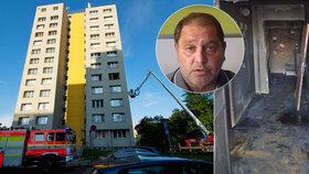 Miroslav přišel při požáru v Bohumíně o část rodiny: Zachránci své sestry poslal dojemný vzkaz