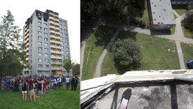 Děsivý pohled vstříc smrti: Přeživší z Bohumína balancovali 33 metrů nad zemí!