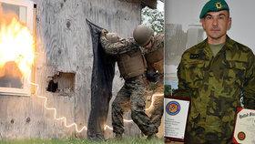 Český voják Honza strávil půl roku v americké armádě: Úspěšně absolvoval náročný kurz