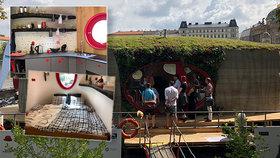 Světový unikát v Praze: Plovoucí dům vytiskli na 3D tiskárně za 32 hodin, kotví u Střeleckého ostrova