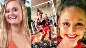 """Obrovská proměna hvězdy Hotelu Paradise: Z holky """"krev a mlíko"""" je svalnatá fitnesska!"""