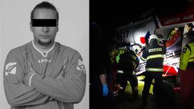 Dobrovolný hasič zemřel při otřesné nehodě: Dojemná slova těhotné manželky o pomoci přátel