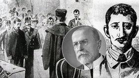 Měl zavraždit Anežku (†19), zastal se ho Masaryk: Hilsner se očištění jména nedočká
