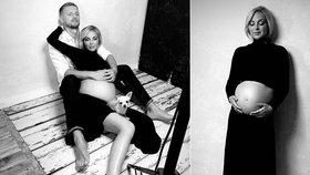 Těhotná Markéta Konvičková se odvázala: Poslední odhalené fotky před porodem!