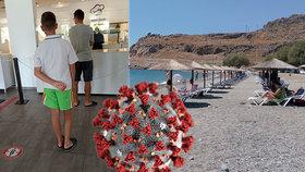 Fronty na jídlo, ale prázdné pláže, pochvaluje si samoživitelka z dovolené v Řecku! Šetřila 5 let