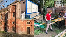 Studio Alta renovuje Invalidovnu. Pomáhají jí s tím i dobrovolníci