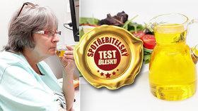 Cena kvalitu olivového oleje neovlivňuje, ukázal test! Který výrobek se vyplatí nejvíc?