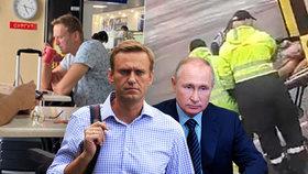 Putinův kritik Navalnyj v kómatu: Rusové odmítali převoz do Německa, nakonec couvli