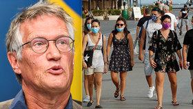 Hlavní epidemiolog zostra proti rouškám: Jsou nebezpečné, dávají mylný pocit bezpečí