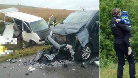 Tragickou nehodu dodávek přežil z pěti chlapců jediný: Policisté už obvinili řidiče