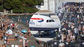 Turisté prchají z Chorvatska, aby se vyhnuli karanténě. Britové ji zavedou i pro sousedy ČR