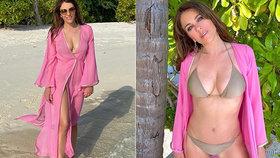 Elizabeth Hurleyová má v 55 letech postavu jako lusk: Sama si dělá reklamu!