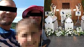 Poslední sbohem pro oběti z bohumínské tragédie: Rodiny se loučily s těhotnou Nicolkou i dvěma dětmi