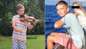 Mladý hudebník (†14) zemřel při šnorchlování: Vrazil do něj motorový člun!
