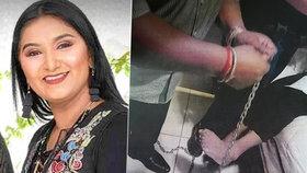 Milionářka Sandra promluvila o hororovém únosu: 162 dní ji drželi na řetězu jako psa