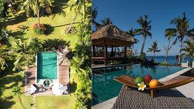 Češi vybudovali luxusní resort na Bali: Kvůli koronaviru zeje prázdnotou