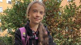 """""""Přestávka skončila,"""" hlásí aktivistka Greta (17). Do školní lavice se vrátila po roce"""