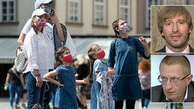 Koronavirus drtí Prahu, v části Česka není skoro vůbec. Starostové dostanou podrobná data