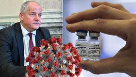 Vakcína proti koronaviru by měla být v Česku ještě letos. Nejdřív ji dostanou důchodci a nemocní