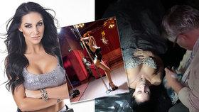 Jde ve stopách Jirky Pomeje (†54)? Sexy Andrea v roli mrtvé striptérky!