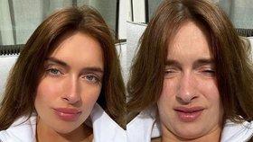 Krásná versus ošklivá? Kdeže! Jedna žena. A dokazuje, že fotky můžou kouzlit