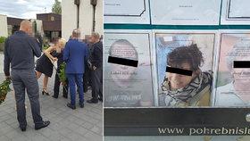 Šílený Zdeněk K. (52) upálil i svého syna, exmanželku a tchyni: Rodinu žháře pohřbili až poslední
