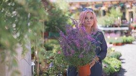 Hobby s Markétou Mayerovou: Kousek louky na zahradě
