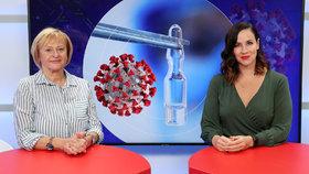 Epicentrum: Primářka Roháčová o nových mutacích koronaviru i vakcíně. Jsme připraveni na podzim?