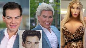 Šokující proměny Jessicy Alvesové: Z roztomilého klučiny zjizveným Kenem a děsivou Barbie!
