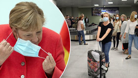 Pozor při cestě do Německa: Za sundání roušky pokuta až 1300 Kč, někde i více
