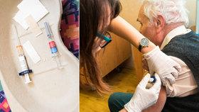 """Očkování seniorů 80+ v Praze. """"Jsme připraveni,"""" zní z městských částí a pomáhají s informacemi"""