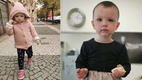Valiku (2) z Prahy dělily dvě hodiny od amputace nohou: Díky pohotové mamince může zase chodit