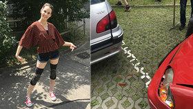 Míša Tomešová ze Sestřiček Modrý kód: Vážná nehoda na dálnici!