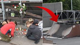 Holčičku (†12) uvěznily ve skateparku plameny: Cesta z ohnivého pekla byla široká 30 cm